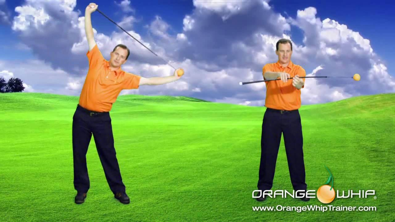 Träna med Orange Whip Trainer. Inte så dumt som det ser ut! -Michael Broström
