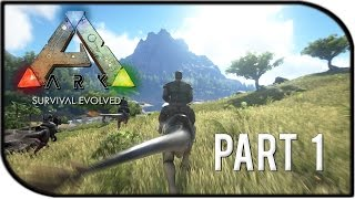 "getlinkyoutube.com-ARK: Survival Evolved Gameplay Part 1 - ""Starting out Fresh!"" (Basic Tutorial + GIVEAWAY!!)"