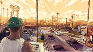 getlinkyoutube.com-GTA V - CJ Is Back! Families Take Over Grove Street (GTA V movie)