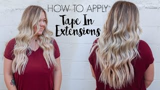 getlinkyoutube.com-How to Apply Tape-In Extensions