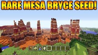 getlinkyoutube.com-★Minecraft Xbox 360 + PS3: TU31 Seed Rare Mesa Bryce Biome + Dark Oak Forest At Spawn★