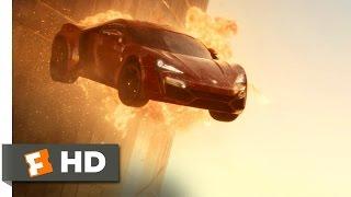 getlinkyoutube.com-Furious 7 (5/10) Movie CLIP - Cars Don't Fly (2015) HD