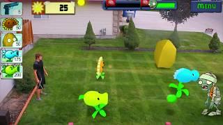 getlinkyoutube.com-Real Life: Plants VS Zombies [LIVE ACTION]