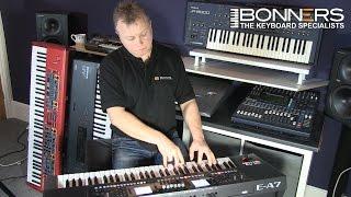 getlinkyoutube.com-Roland EA7 Keyboard UK Mega Style Demo Lots Of Playing