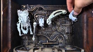 """getlinkyoutube.com-""""Predator Trophy Wall Diorama"""" NECA Predator"""
