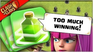 getlinkyoutube.com-Really..? TOO MUCH WINNING in Clash of Clans!