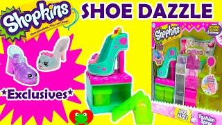 getlinkyoutube.com-Shopkins Shoe Dazzle Playset Season 3 Fashion Spree