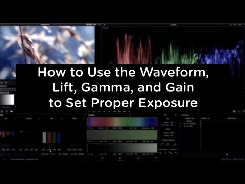 Primary Color Correction: How to Use the Waveform, Lift, Gamma, and Gain - cinemaDNG