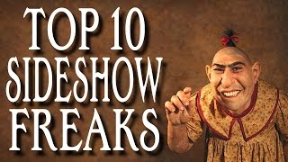 getlinkyoutube.com-Top 10 Sideshow Freaks