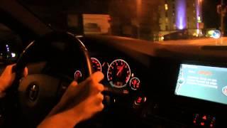 getlinkyoutube.com-BMW B5 Biturbo Alpina Testfahrt 300 km/h mit einem beinahe Unfall