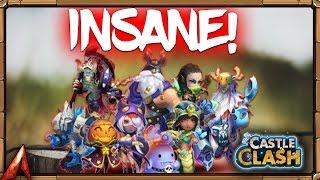 getlinkyoutube.com-Castle Clash INSANE Rolls! Finally!
