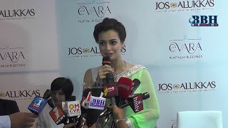 Dia Mirza Platinum Evara Launch at Jos Alukkas - Bigbusinesshub.com