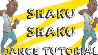 HOW TO DO THE SHAKU SHAKU DANCE (TUTORIAL) | JustinUg