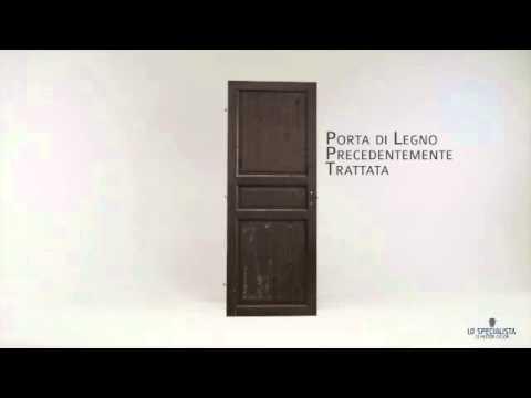 Come verniciare una porta fai da te mania - Verniciare porte in legno ...