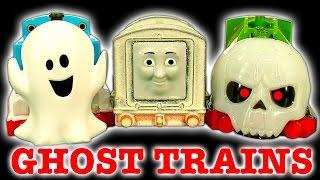 getlinkyoutube.com-Thomas The Tank Ghost Engine Halloween How To Make Epic Scary Trackmaster Trains