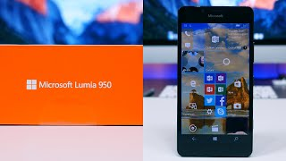 getlinkyoutube.com-Microsoft Lumia 950 Unboxing and First Look
