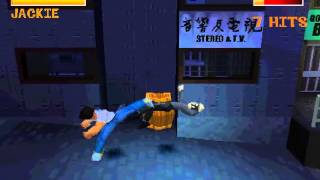 getlinkyoutube.com-Jackie Chan Stuntmaster (PSX) - Combos + Gameplay