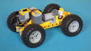 LEGO Technic Small 4WD Car with Dual M-motor
