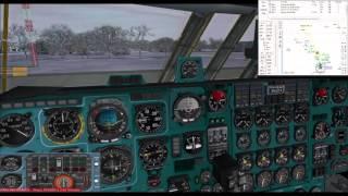getlinkyoutube.com-Military excercise at Minsk | IL-76 Russian Air Force | VATSIM
