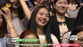[VIETSUB] 151031 Happy Camp - Luhan with The Witness cast