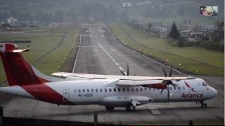 getlinkyoutube.com-[HD 1080p] Plane Spotting in Manizales - Colombia