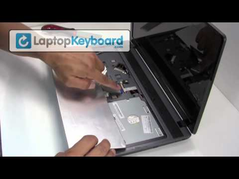 Acer Aspire 5736 7745 5552 Laptop Keyboard Installation Replacement Guide - Remove Replace Install