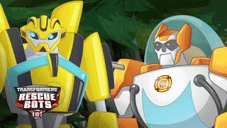 getlinkyoutube.com-Playskool Heroes - Transformers Rescue Bots: Meet Bumblebee