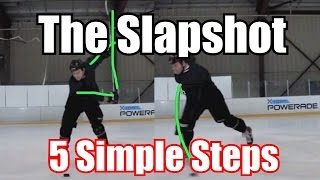 getlinkyoutube.com-5 Steps - How To Take a Slapshot