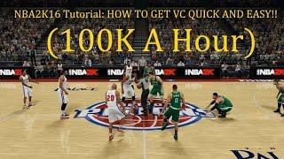 getlinkyoutube.com-NBA2K16 Tutorial: HOW TO GET FREE VC QUICK AND EASY!! (100k A Hour)