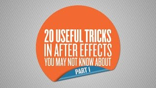 getlinkyoutube.com-20 Useful Tricks in After Effects You May Not Know About - Part 1 of 4