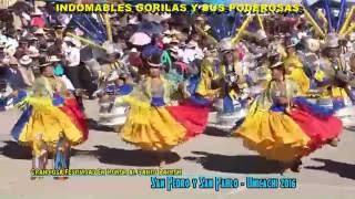 getlinkyoutube.com-San Pedro y San Pablo  2016 Unicachi - Gorilas y sus Poderosas