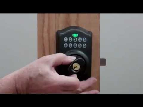 How To: Keypad Deadbolt Cam Positioning