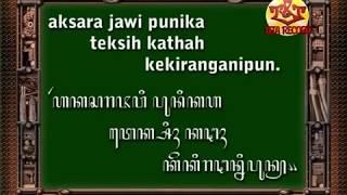 Bahasa Jawa-Kalimat Aksara Jawa