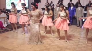 getlinkyoutube.com-Srimaal + Ayachana Surprise Group Wedding Dance - Water's Edge