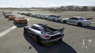 getlinkyoutube.com-Forza Motorsport 6 | One:1 vs Everyone | Airstrip Attack w/ Skyline, TT Viper, Beetle, S7 & More
