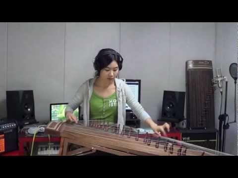 Koreanka i jej niezwykły instrument