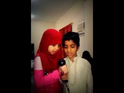 Innocent children ... beautiful urdu song