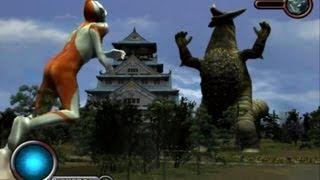 getlinkyoutube.com-Ultraman PS2 (Story Mode Part 9) Ultraman vs Gomora
