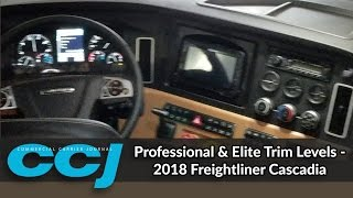 getlinkyoutube.com-Professional & Elite Trim Levels - 2018 Freightliner Cascadia