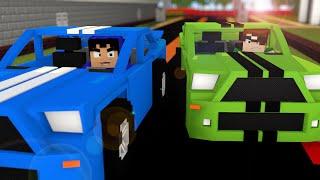 getlinkyoutube.com-Minecraft: SUPER CARROS NO MINECRAFT! (Mapa)