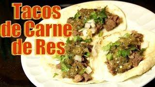 getlinkyoutube.com-Tacos de Carne de Res - Receta | Casayfamiliatv