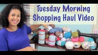 Tuesday Morning- July 2014 Shopping Haul