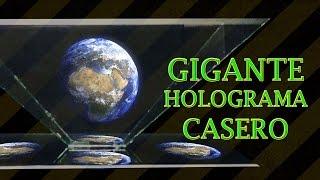 getlinkyoutube.com-Como Hacer un Gigante Proyector de Hologramas Casero (DIY Giant Hologram Projector)