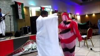 getlinkyoutube.com-رقصة صحراوية في إحتفالات الجالية الصحراوية 2015
