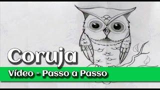 getlinkyoutube.com-Desenhando uma coruja - Passo a passo