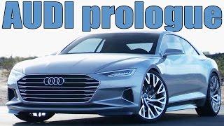 getlinkyoutube.com-Future Audi A9 - The Audi prologue concept | DESIGN
