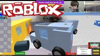 getlinkyoutube.com-SMASHING CARS!!! Let's play Roblox