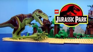 getlinkyoutube.com-Jurassic Park Lego Stop-Motion Brickfilm
