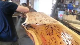 getlinkyoutube.com-Pecky Cypress Tables