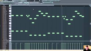 getlinkyoutube.com-Hands Up Melody Tutorial FL Studio 11